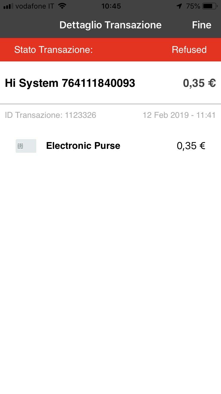 Polin Distribuzione - App Breasy - Addebito rifiutato