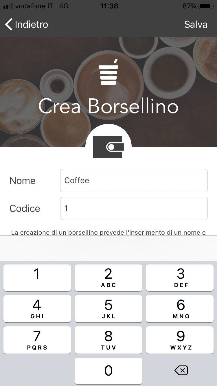 Polin Distribuzione - App Breasy - creazione borsellino